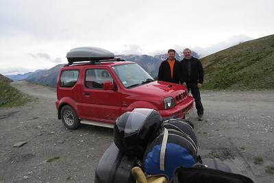 Harald Denzel en Big Mike Belgium op een