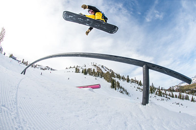 Land Rover U.S. Grand Prix at Mammoth Mountain - Snowboard
