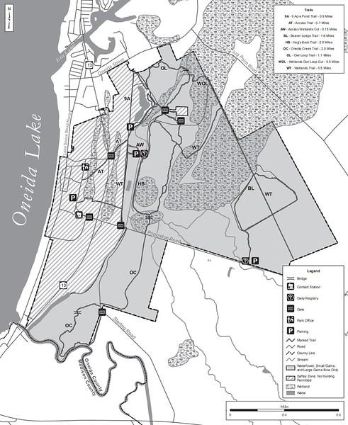 Verona Beach State Park (Hunting Map)