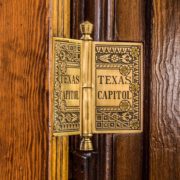 Original Door Hinges in Capitol