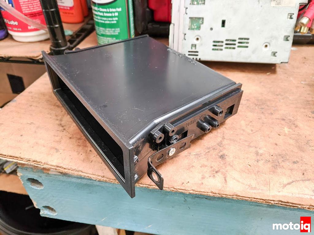 Radio Pocket with Brackets