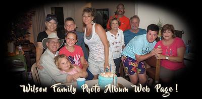 Wilson Family Photo Album Web Page