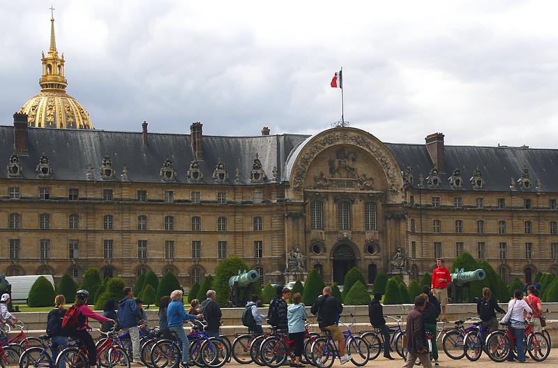 A bicycle tour of Paris