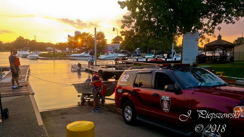 9-5-2018 - (Camden County) - BELLMAWR - Hargrove Marina - Water Rescue