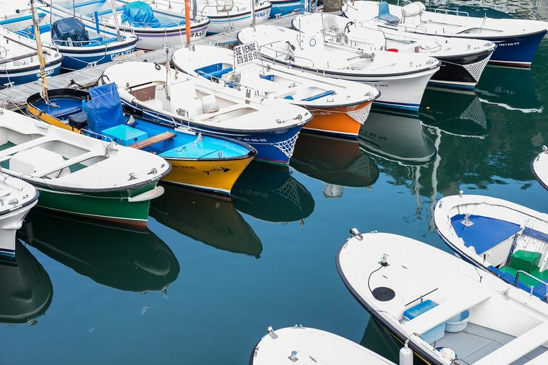 Boats in San Sebastian Marina