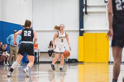 WA Girls Varsity Basketball 1/14/2020