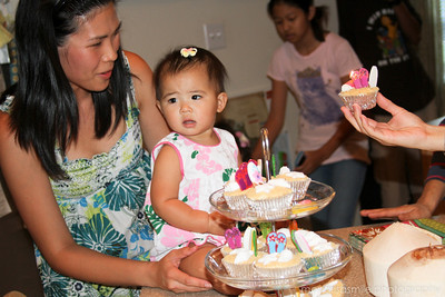Juliet's 1st Birthday