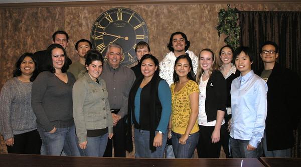 Bruce Ames Symposium Student Volunteers