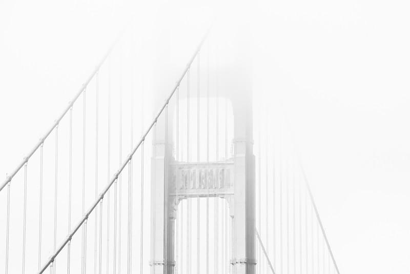 Drive north, across  the GG Bridge
