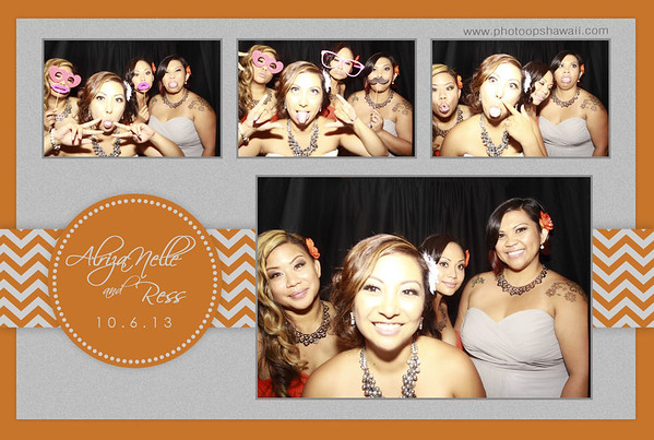 Alriza Nelle + Ress (Stand Up Photo Booth)