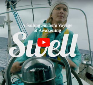 Swell: A Sailing Surfer`s Voyage of Awakening by Captain Liz Clark, USA