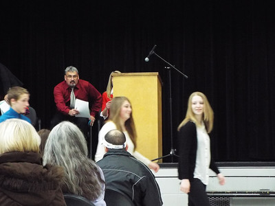2013 NHS induction at EV-W