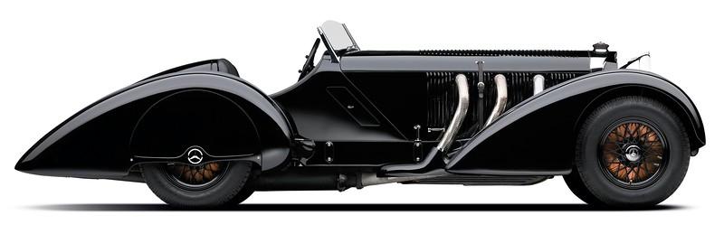 1930 Mercedes-Benz SSK 7.1L I-6 Supercharged side.jpg