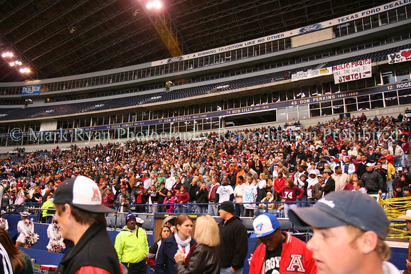 November 29,2008 Texas Stadium - Wylie High School Fans