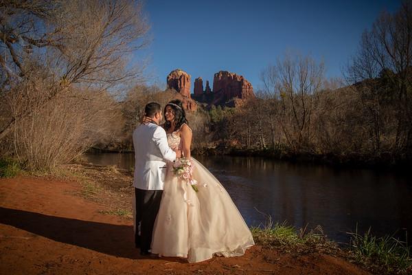 Monique and Jose's Sedona Wedding