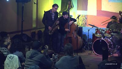 20161221 Mike Lee Lenny White Ed Howard HKC Jazz Jam