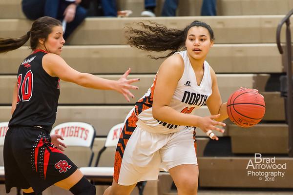 NDHS Lady Knight Basketball vs South Rowan 2018
