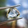 3.46ct Portrait Rose Cut Trapezoid Diamond GIA UV VVS2 27