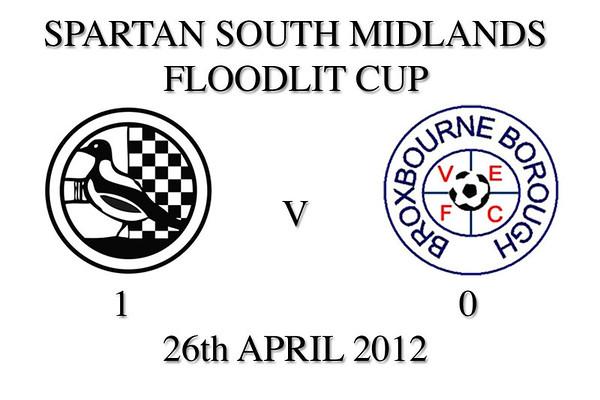 SSM Floodlit Cup Final 2012