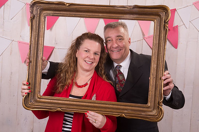 Valentine Dinner Photo Booth