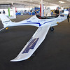"""This """"solar-assist"""" aircraft was supposed to fly on Wednesday, but that was rain day.  I didn't hear if it got another chance."""