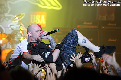 Five Finger Death Punch <br> ShipRocked Cruise 2014  <br> Photos by: Mary Ouellette