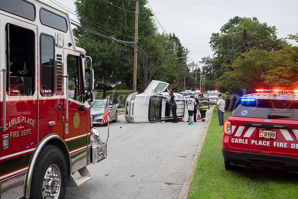 Carle Place Overturned Auto 08/29/2021