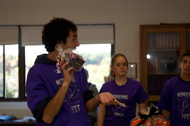 Hedgehog Fest '10 at Norfolk County Agricultural High School - Raffle and Prizes (10/09/2010)