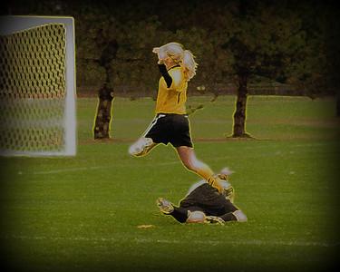 10/19/2011 vs Bluffton University Beavers/35mph wind and rain