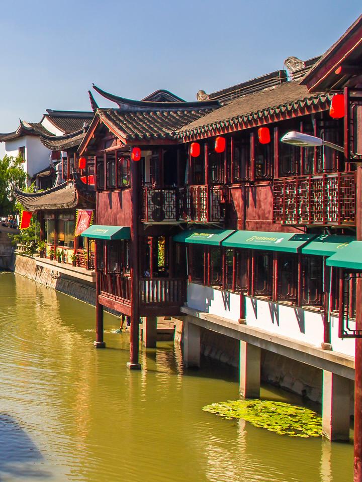 上海七宝古镇,江南民居