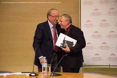 Bishop Younan's Lecture at The Van Leer Jerusalem Institute - 2014