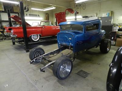 1929 Oldmobile Hot Rod Project - Kari and Ryan Rediger