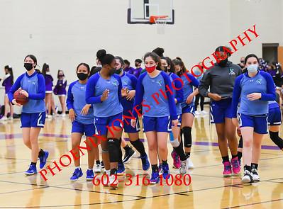 3-17-2021 - Valley Vista v Xavier - Girls Basketball Semifinal