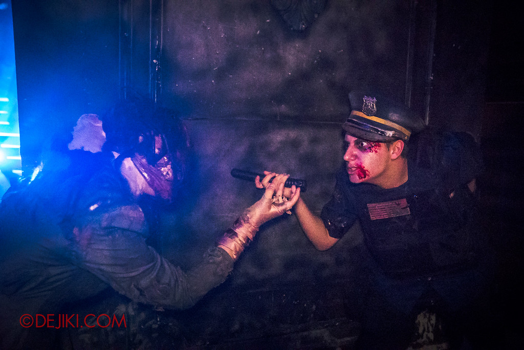 Halloween Horror Nights 6 Final Weekend - Bodies of Work revisited / Megs and B