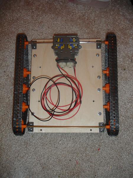 Lower base assembled