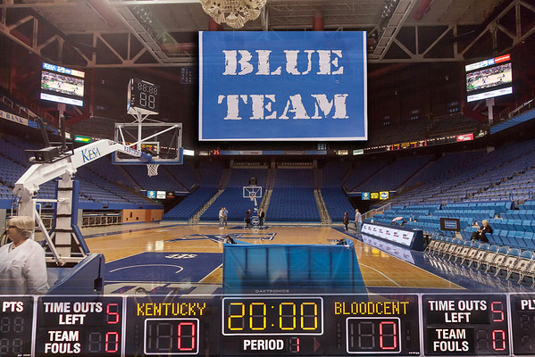 Rupp Arena Blood Drive 1 28 2013