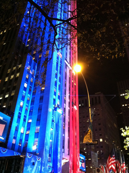 NYC Election Night 2012