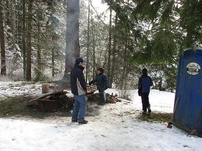 2008/03 Sequim Cabin Spring Break