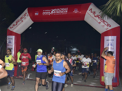 Madras Inner Strength Half Marathon 2021