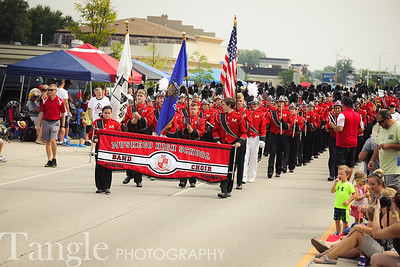 Marching Band - Muskego Festival Parade (2018-08-26)