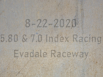 8-22-2020 Evadale Raceway '5.80 & 7.0 Index Racing'