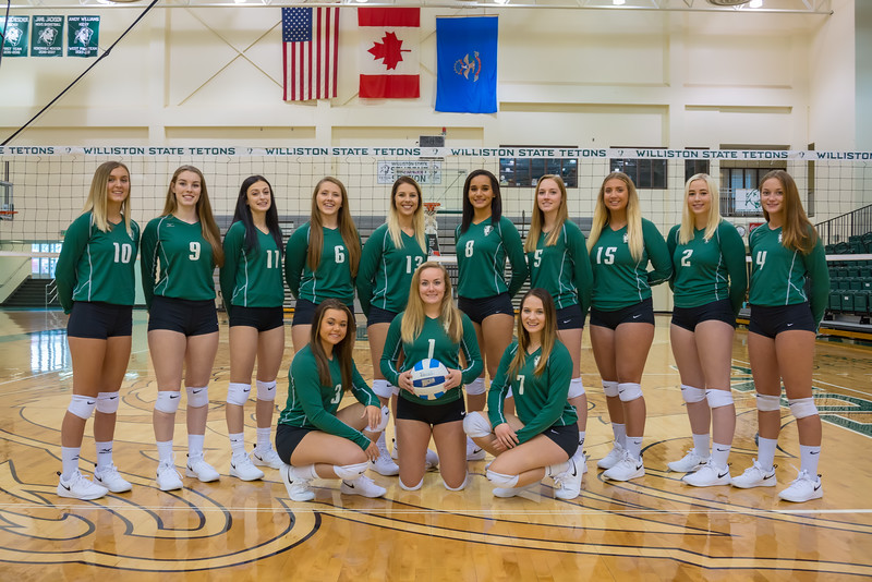 WSC Volleyball Team Photos
