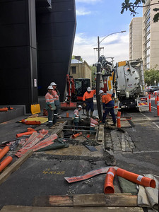 2018 Construction around Melbourne