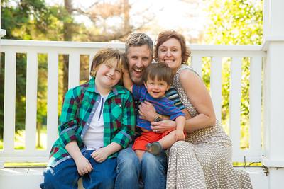 The Orr Family April 2016