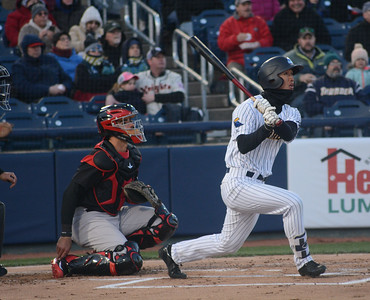 Trenton Thunder opening night