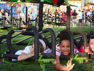Carnival with April and Taylor