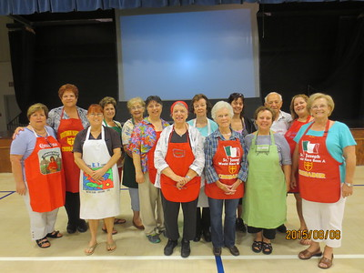 2015-08-08 Symbolic Pastry Class for St. Joseph Altar
