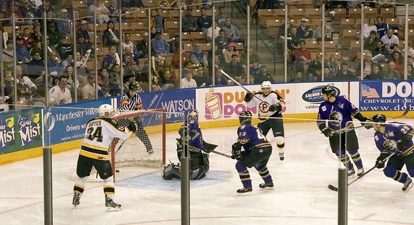 Providence Bruins vs Manchester Monarchs - April 28, 2005