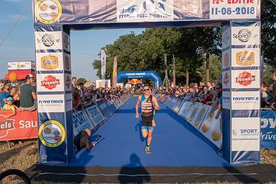Sterke Peer triatlon 2018 - Aankomst Sprint Triatlon