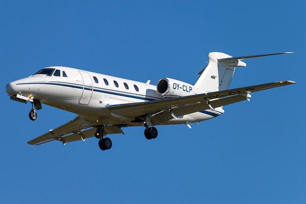 OY-CLP - Cessna 650 Citation VII